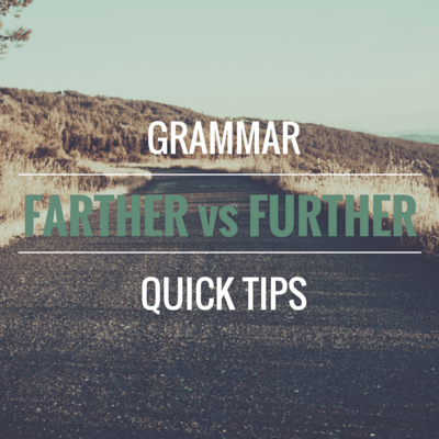 Grammar Quick Tips
