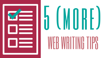 Web Writing Tips